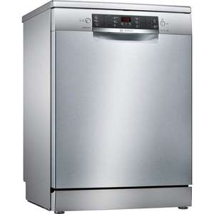Bosch SMS46II00G ActiveWater 13 Place 60cm Dishwasher in Silver Inox