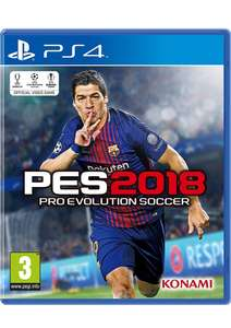 Pro Evolution Soccer 2018 Deals ⇒ Cheap Price, Best Sales in UK