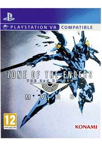 Zone of the Enders 2nd Runner Mars VR Compatible on PS4 for £9.99 Delivered @ Simplygames