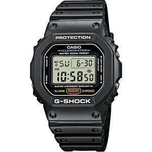 Casio G-Shock Men's Watch DW-5600E-1VER £44.99 @ JB Watches