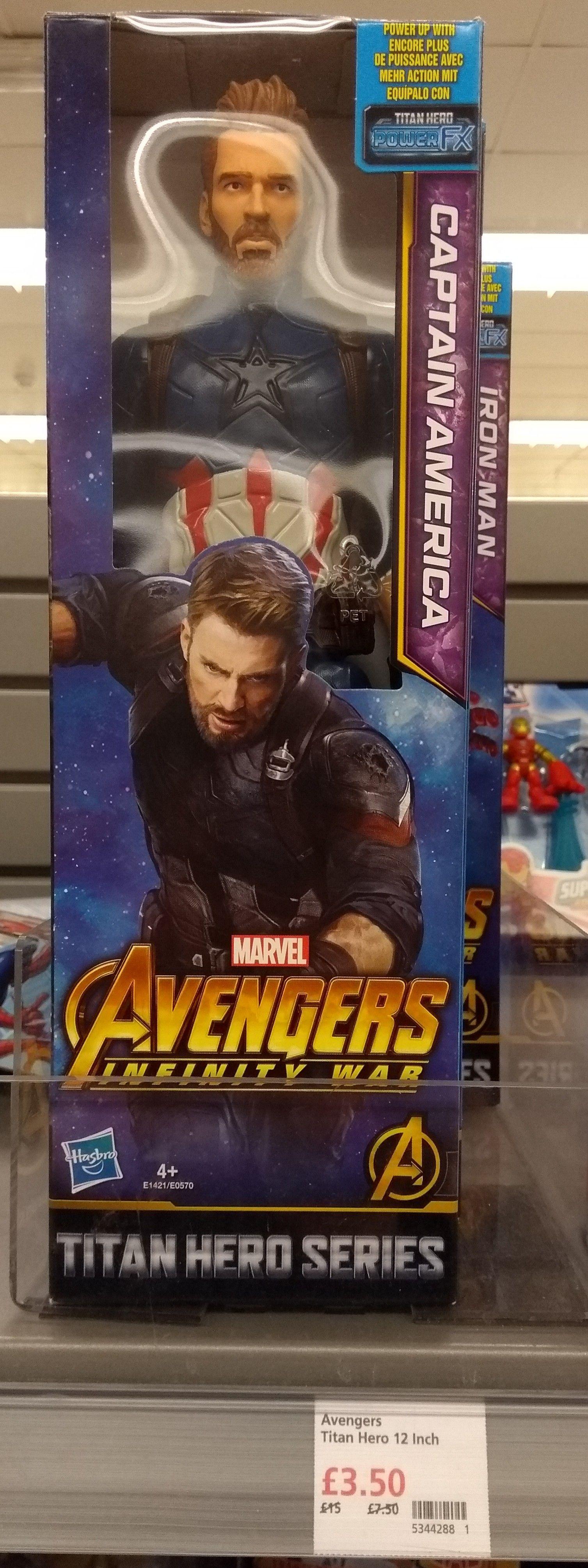 "Marvel Avengers Infinity War Titan Hero 12"" Action Figures in-store at Waitrose, Willerby, East Yorkshire - £3.50"