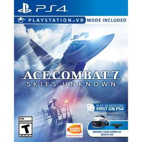 Ace Combat 7: Skies Unknown + bonus DLC on PlayStation 4 + PSVR @ simplygames - £39.85