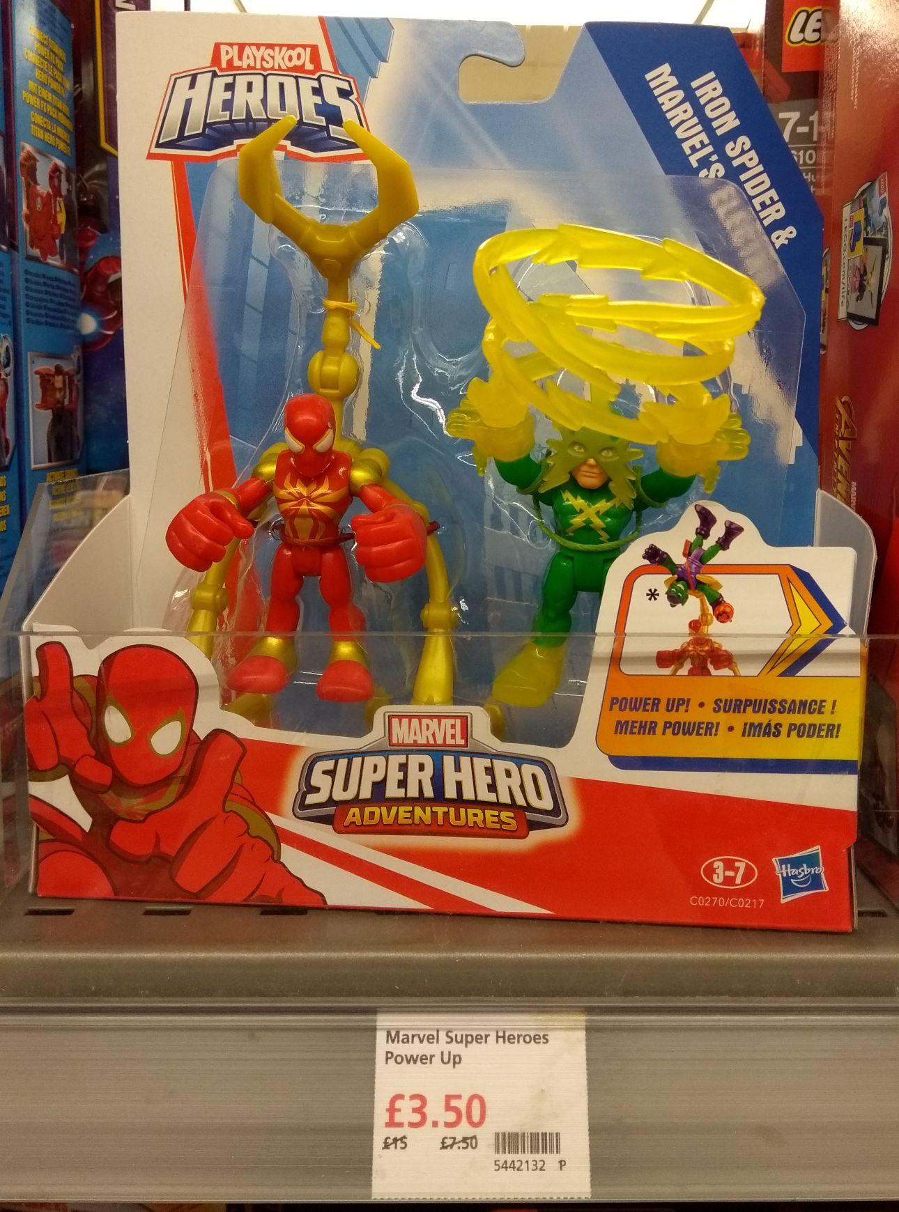 Playskool Heroes Marvel Super Hero Adventures Power Up Action Figures in-store at Waitrose, Willerby, East Yorkshire - £3.50
