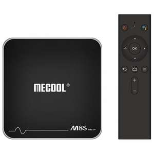 Mecool m8s pro+ Android TV Box 2GB+16GB ROM £29.78 with F&P @ Gearbest