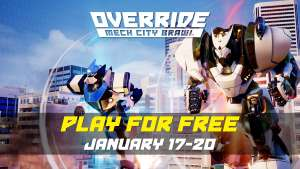 Override Mech City Brawl - Free Play Weekend (PS4, XBox, PC)