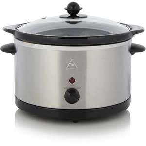 3L Stainless steel Slow Cooker £10 @ Asda instore.
