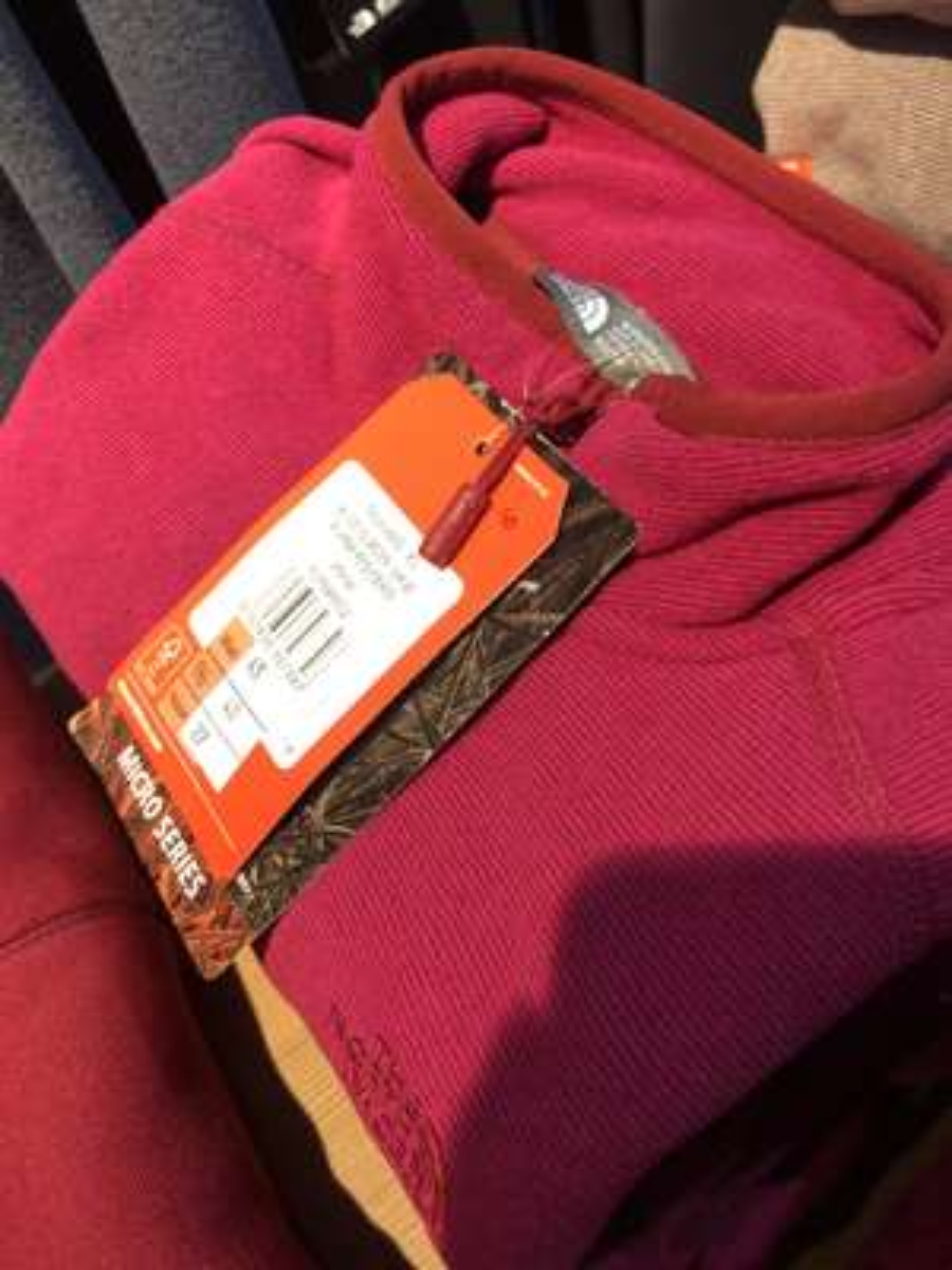 The North Face womens quarter zip fleece £27 @ The North Face  Edinburgh