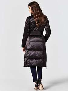 LONG DOWN JACKET STRETCH DETAILS - £66 @ Guess