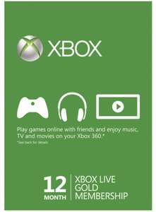 Xbox Live Gold 12 months (Brazil & VPN required) from Cdkeys £24.24 with Facebook code