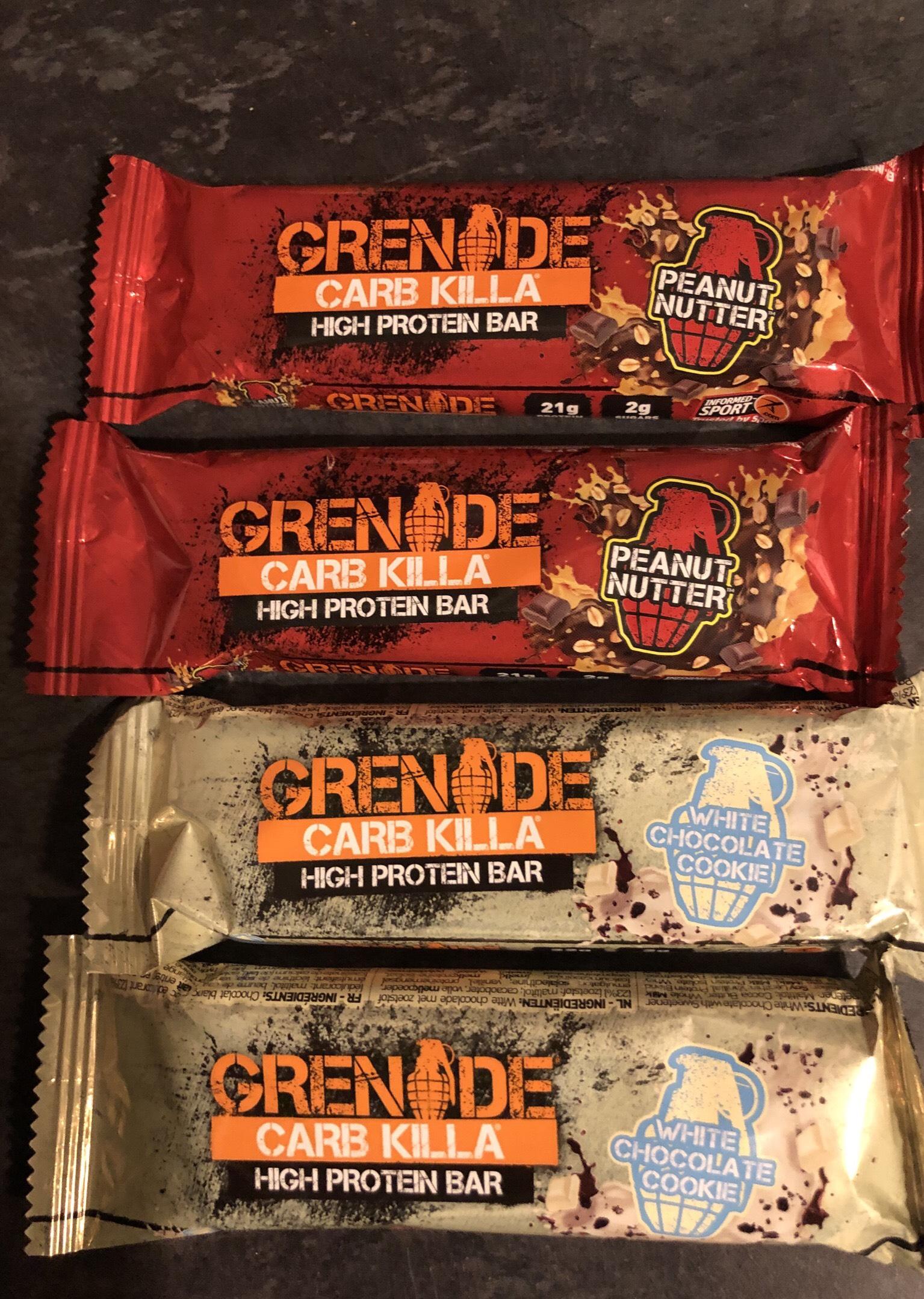 Grenade Carb Killa instore at B&M for £1.29