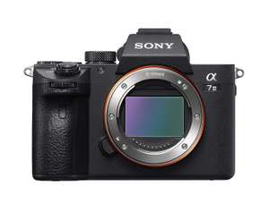 Sony Alpha A7 iii mirrorless camera at Amazon for £1737.37