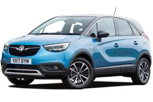 VAUXHALL CROSSLAND X SUV 1.2 Elite Nav 5dr - 2 year lease, £925 down then £154.20 per month @ What-Car