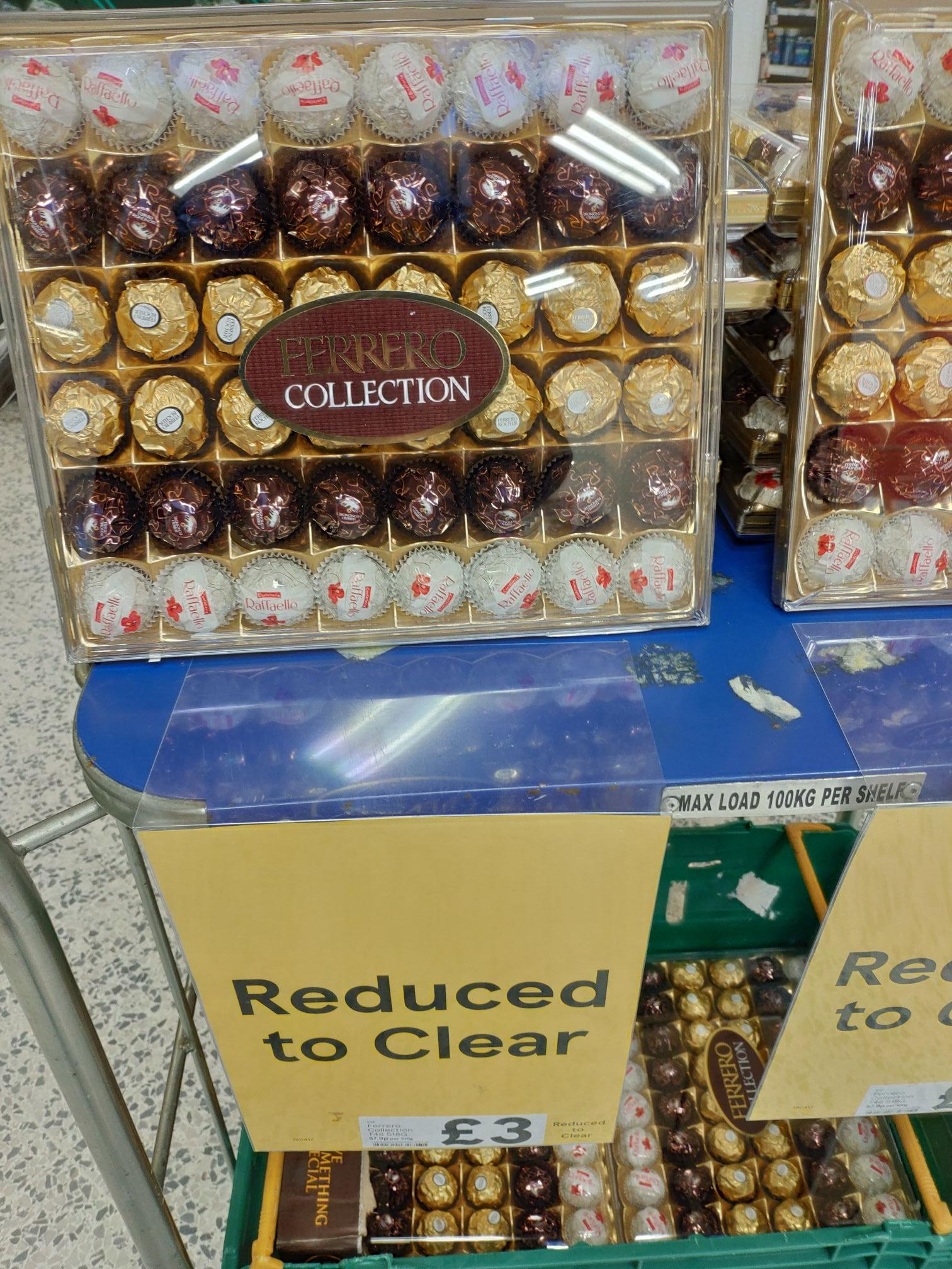 Ferrero Rocher Collection 48 pieces £3 in Tesco