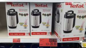 Tefal My Daily Soup and Smoothie Maker, Stainless Steel, Black £39.99 @ B & M