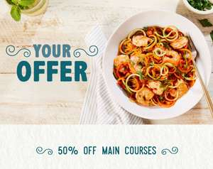 Bella Italia 50% off main courses voucher plus free Mocktail with sweatcoins app