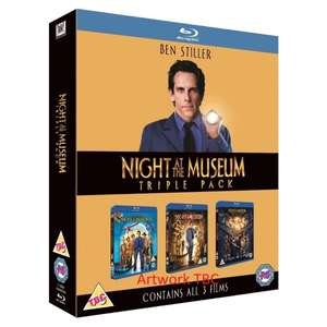 Night at the Museum Triple Pack Blu-ray £4.27 Delivered @ 365games/Shop4World