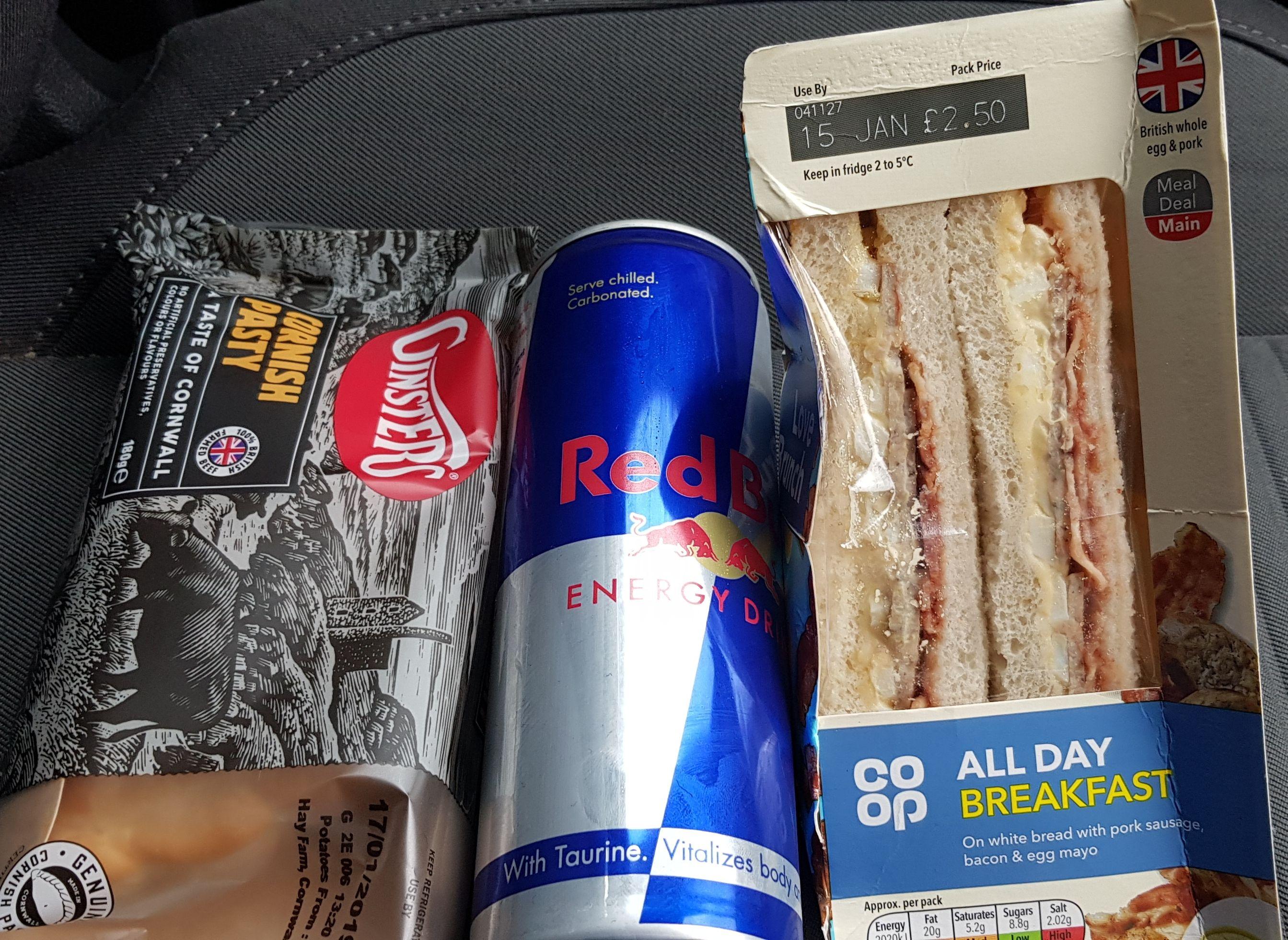 Sandwich Meal deal @ Co-op for £3.50