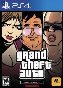 Grand Theft Auto: The Trilogy PS4 - £11.49 @ PlayStation Store UK