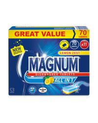 Magnum all in 1 dishwasher tablets - £5.49 @ ALDI