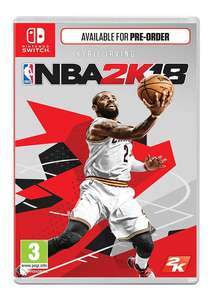 NBA 2K18 - Includes Pre-Order Bonus on Nintendo Switch for £9.85 Delivered @ Simply Games