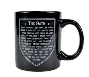 Game of thrones mug £2.40 coasters £2.40 was £8 free c+c w/code @ Debenhams