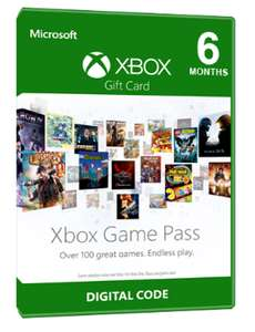 XBOX GAME PASS - 6 MONTHS @ Mmoga for £26.71