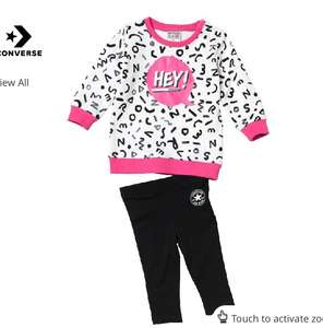 Baby/Toddler Converse Outfit £2.99 (+£4.99 delivery, or upgrade to a years free next day delivery for £9.99) at M and M Direct. 4% Quidco