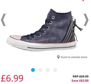 Converse (4 x styles in sizes 3/3.5 only) From £6.99 plus £4.99 delivery (or pay £9.99 for 1 yrs Next Day Delivery)