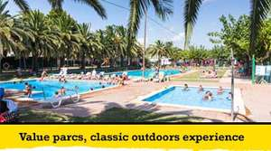 9 night holiday to Salou Spain - 2 Adults 2 Children £397 (Inc Flights)  - £99.25 each @ Eurocamp