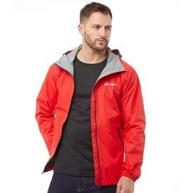Berghaus Mens Deluge Hydroshell Light Shell Jacket Red/Red - X Large only £36.99 + £4.99 del MandM direct