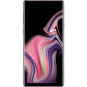 PreOwned Samsung Note 9 128GB Lavender Unlocked 12 Months Warranty £485.99 @ Music magpie