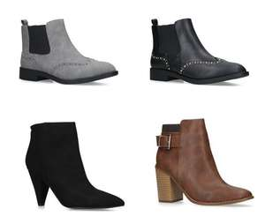 Selection of Mens & Womens Kurt Geiger Boots now from just £14.25 - Upto 80% Off Sale + Extra 25% OFF ALL Boots w/code @ Shoeaholics