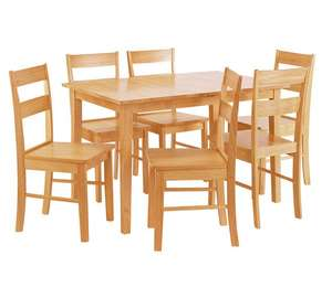Chicago Extendable Table & 4 Chairs  (Was £239.99) Now £122.14 delivered at Argos