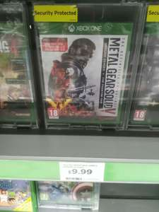 Metal Gear Solid V The Definitive Experience (Xbox One) - £9.99 @ Saisnbury's
