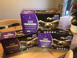 Christmas Lights Reduced in Store £29.99 to £10 @ B&M St Phillips Causeway - Bristol