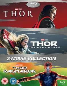 Thor blu-Ray trilogy including Thor Ragnarok £16.99 +99p delivery @ Zavvi