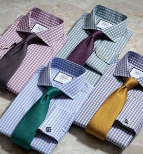 Charles Tyrwhitt - 4 shirts for £69.75 using STEP19UK. £17.43 per shirt inc £4.99 delivery