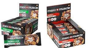 Maximuscle Protein Bars now £11.99 (Prime) / £16.48 (non Prime) on Amazon (additional 20% off available with 'subscribe & save'