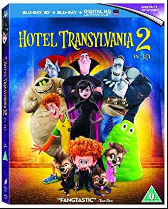 Hotel Transylvania 2  3D Blu Ray @ poundland Streatham £1