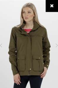 70% off regatta sale! Landelina lightweight waterproof jacket £20.95 plus £3.95 postage free on orders over £50