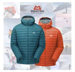 Mountain equipment Arete down jacket S-XL (2 colours) £99 @ climbers shop