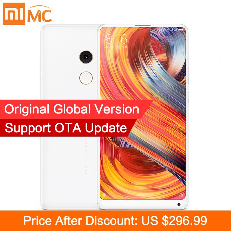 "Global Version Xiaomi Mi Mix 2 8GB 128GB Mobile Phones Snapdragon 835 Octa Core 5.99"" 1080P Full Screen Display @ xiaomi mc store/aliexpres"