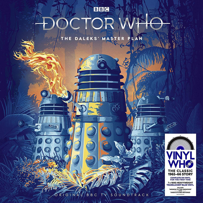 Doctor Who - The Dalek's Master Plan - Vinyl Box Set Preorder £99.99 @ Amazon UK