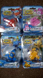 Super Wings die cast figures £1.50 instore at Tesco Chesterfield