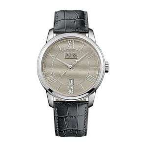 Men's Hugo boss watch stainless steel classic grey strap watch - £56.25 at checkout (free C&C / £3 delivery) @ Ernest Jones