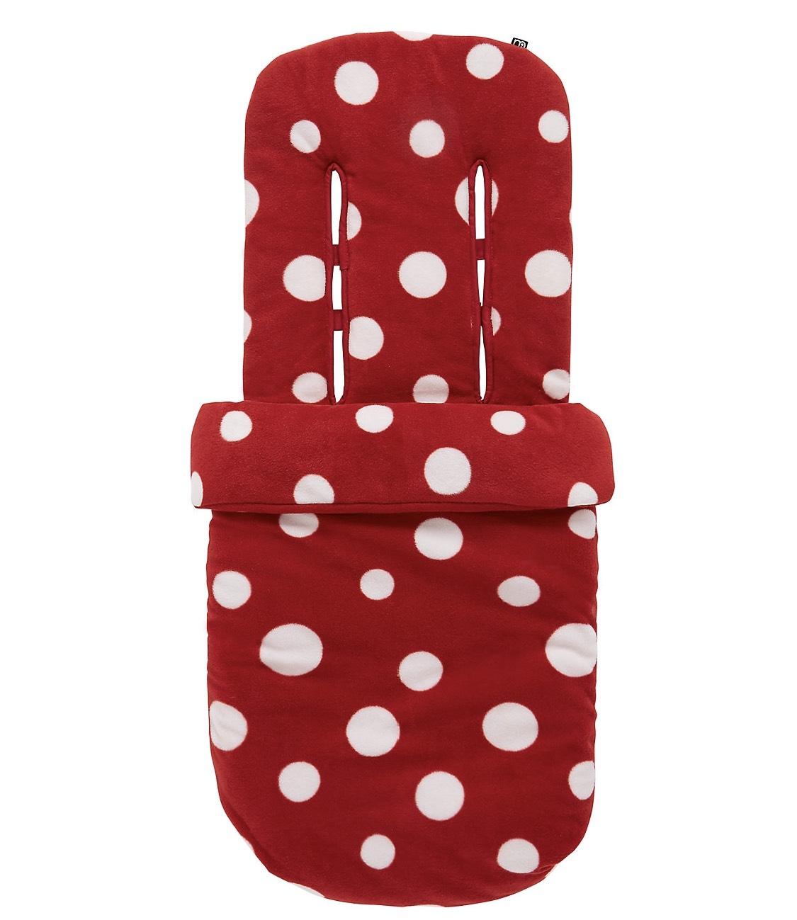Mothercare Fleece Cosytoe - Red Spot £12 free c+c @ Mothercare