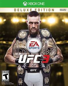 EA SPORTS UFC 3 Deluxe Edition Xbox One £19.08 at Xbox Store Argentina
