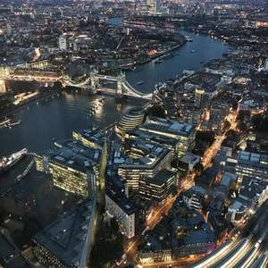 Visit the Shard for half price this January or February - £15 pp