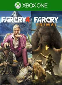Far Cry 4 + Far Cry Primal Bundle Xbox One £7.65 from Xbox Store Turkey