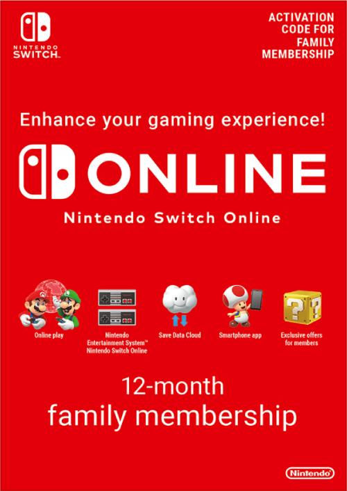 Nintendo Switch Online 12 Month Family Membership (8 accounts) -  £26.47 (Using FB code) @ CDKeys